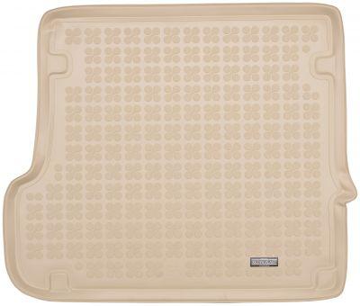 REZAW-PLAST beżowy gumowy dywanik mata do bagażnika BMW X3 E83 od 2003-2010r. 232109B