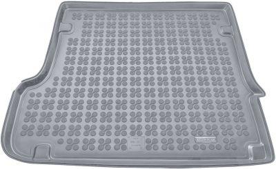 REZAW-PLAST popielaty gumowy dywanik mata do bagażnika BMW X3 E83 2003-2010r. 232109S