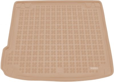 REZAW-PLAST beżowy gumowy dywanik mata do bagażnika BMW X6 E71 od 2008-2014r. 232113B/Z