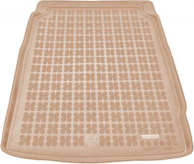 REZAW-PLAST beżowy gumowy dywanik mata do bagażnika BMW s5 F10 Sedan od 2010-2017r. 232116B/Z