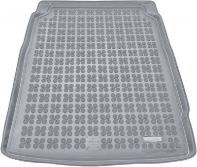 REZAW-PLAST popielaty gumowy dywanik mata do bagażnika BMW s5 F10 Sedan od 2010-2017r. 232116S/Z
