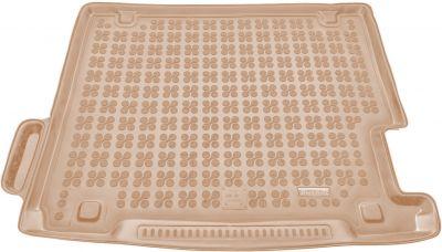 REZAW-PLAST beżowy gumowy dywanik mata do bagażnika BMW X3 F25 od 2010-2017r. 232118B/Z