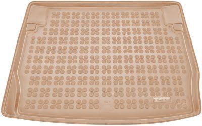 REZAW-PLAST beżowy gumowy dywanik mata do bagażnika BMW s1 F20 od 2011-2015r. 232119B/Z