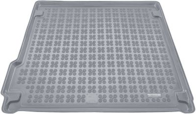 REZAW-PLAST popielaty gumowy dywanik mata do bagażnika BMW X5 F15 od 2013r. 232125S/Z