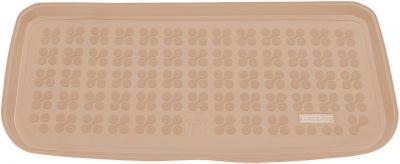 REZAW-PLAST beżowy gumowy dywanik mata do bagażnika Mini One Cooper od 2013r. 232126B/Z
