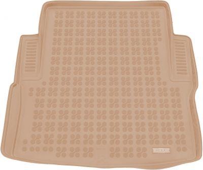 REZAW-PLAST beżowy gumowy dywanik mata do bagażnika BMW s3 F30 Sedan od 2012r. 232132B/Z