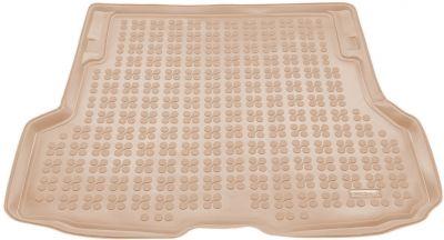 REZAW-PLAST beżowy gumowy dywanik mata do bagażnika BMW s4 F36 Grand Coupe od 2013r. 232137B/Z