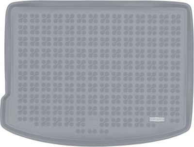 REZAW-PLAST popielaty gumowy dywanik mata do bagażnika Mini Countryman II (górna podłoga bagażnika) od 2017r. 232141S/Z
