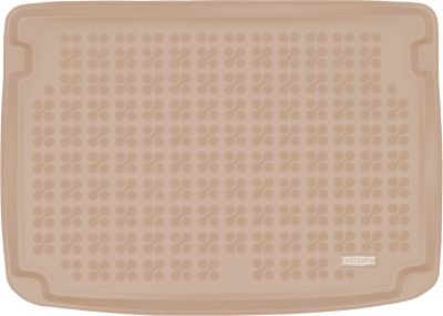 REZAW-PLAST beżowy gumowy dywanik mata do bagażnika Mini Clubman od 2017r. 232143B/Z
