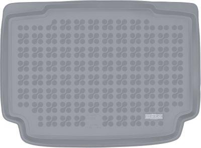 REZAW-PLAST popielaty gumowy dywanik mata do bagażnika Mini Clubman (dolna podłoga bagażnika) od 2017r. 232144S/Z