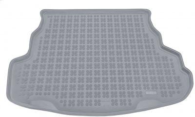 REZAW-PLAST popielaty gumowy dywanik mata do bagażnika Mazda 6 Sedan od 2002-2008r. 232208S/Z
