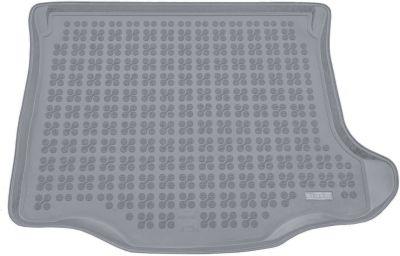 REZAW-PLAST popielaty gumowy dywanik mata do bagażnika Mazda 3 Sedan od 2003-2009r. 232213S/Z