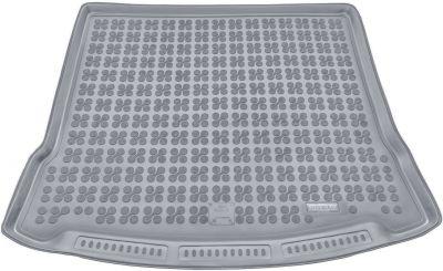 REZAW-PLAST popielaty gumowy dywanik mata do bagażnika Mazda 5 II od 2010-2015r. 232215S/Z