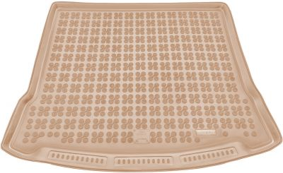REZAW-PLAST beżowy gumowy dywanik mata do bagażnika Mazda 5 II od 2005-2015r. 232215B/Z