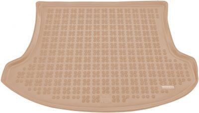 REZAW-PLAST beżowy gumowy dywanik mata do bagażnika Mazda CX-7 od 2007r. 232217B/Z
