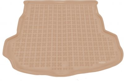 REZAW-PLAST beżowy gumowy dywanik mata do bagażnika Mazda 6 Hatchback od 2008-2012r. 232219B/Z
