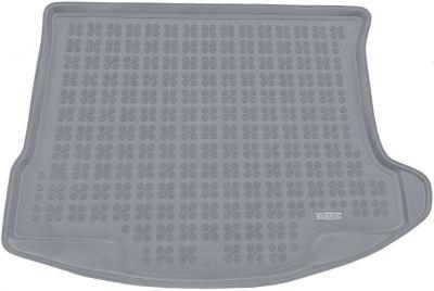 REZAW-PLAST popielaty gumowy dywanik mata do bagażnika Mazda 3 Sedan od 2009-2013r. 232222S/Z