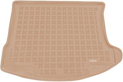 REZAW-PLAST beżowy gumowy dywanik mata do bagażnika Mazda 3 Sedan od 2009-2013r. 232222B/Z