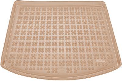 REZAW-PLAST beżowy gumowy dywanik mata do bagażnika Mazda CX-5 I od 2012-2017r. 232225B/Z