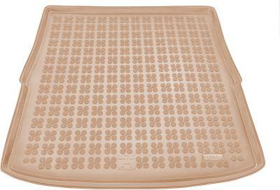 REZAW-PLAST  beżowy gumowy dywanik mata do bagaznika Mazda 6 Kombi od 2012r. 232227B/Z