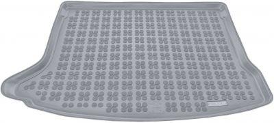 REZAW-PLAST popielaty gumowy dywanik mata do bagażnika Mazda 3 Hatchback od 2013r. 232228S/Z