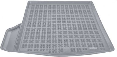 REZAW-PLAST popielaty gumowy dywanik mata do bagażnika Mazda 3 Sedan od 2013r. 232229S/Z