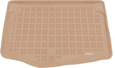 REZAW-PLAST beżowy gumowy dywanik mata do bagażnika Mazda 2 od 2014r. 232231B/Z