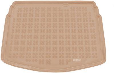 REZAW-PLAST beżowy gumowy dywanik mata do bagażnika Mazda CX-3 od 2015-2018r. 232233B/Z
