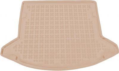 REZAW-PLAST beżowy gumowy dywanik mata do bagażnika Mazda CX-5 II od 2017r. 232234B/Z