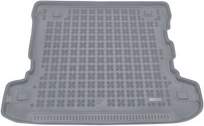 REZAW-PLAST popielaty gumowy dywanik mata do bagażnika Mitsubishi Pajero Wagon od 2006r. 232309S/Z