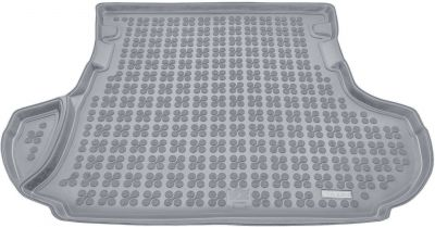 REZAW-PLAST popielaty gumowy dywanik mata do bagażnika Citroen C-Crosser od 2007-2012r. 232310S/Z