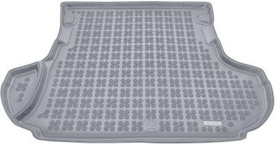 REZAW-PLAST popielaty gumowy dywanik mata do bagażnika Mitsubishi Outlander II od 2006-2013r. 232310S/Z