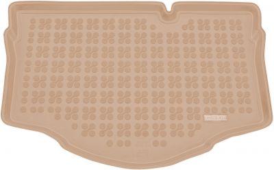 REZAW-PLAST beżowy gumowy dywanik mata do bagażnika Mitsubishi Space Star od 2014-2018r. 232318B/Z