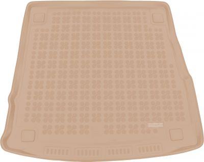 REZAW-PLAST beżowy gumowy dywanik mata do bagażnika Alfa Romeo Stelvio od 2016r. 232407B/Z