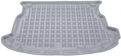 REZAW-PLAST popielaty gumowy dywanik mata do bagażnika SsangYong Korando III od 2011r. 232807S/Z