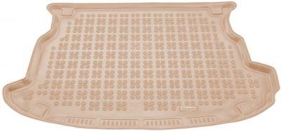 REZAW-PLAST beżowy gumowy dywanik mata do bagażnika SsangYong Korando III od 2011r. 232807B/Z