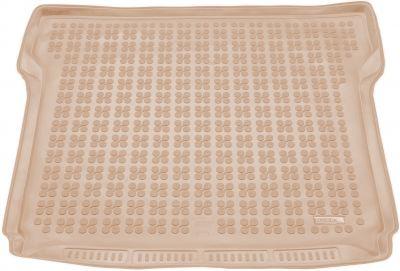 REZAW-PLAST beżowy gumowy dywanik mata do bagażnika SsangYong Rexton W 7os. od 2012r. 232808B/Z