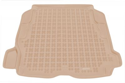 REZAW-PLAST beżowy gumowy dywanik mata do bagażnika Volvo S60 Sedan od 2001-2010r. 232902B/Z