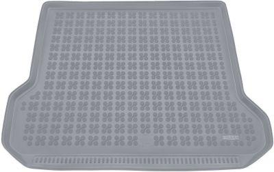 REZAW-PLAST popielaty gumowy dywanik mata do bagażnika Volvo V70 Kombi od 2007r. 232910S/Z