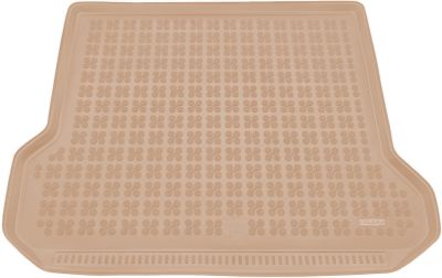 REZAW-PLAST beżowy gumowy dywanik mata do bagażnika Volvo V70 Kombi od 2007r. 232910B/Z