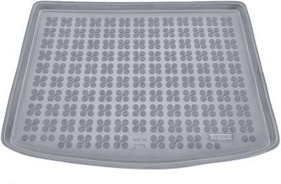 REZAW-PLAST popielaty gumowy dywanik mata do bagażnika Volvo V40 (górna podłoga bagażnika) od 2012r. 232915S/Z