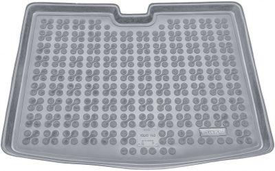 REZAW-PLAST popielaty gumowy dywanik mata do bagażnika Volvo V40 (dolna podłoga bagażnika) od 2012r. 232916S/Z