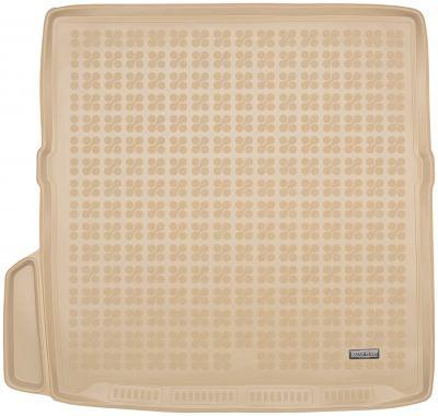 REZAW-PLAST beżowy gumowy dywanik mata do bagażnika Volvo XC90 od 2015r. 232919B