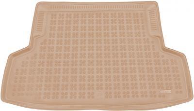 REZAW-PLAST beżowy gumowy dywanik mata do bagażnika Subaru WRX STI od 2014r. 233008B/Z