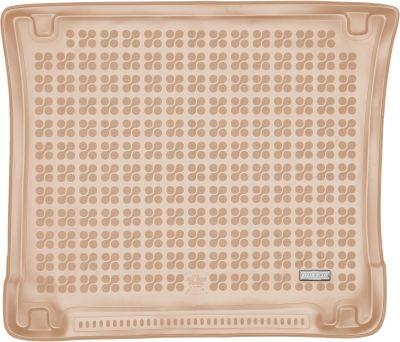 REZAW-PLAST beżowy gumowy dywanik mata do bagażnika Jeep Grand Cherokee od 2010r. 233107B