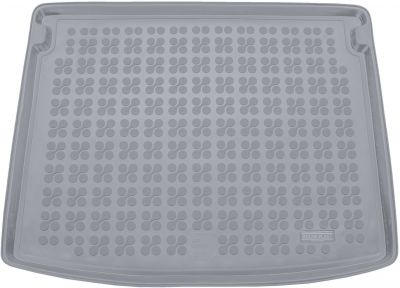 REZAW-PLAST popielaty gumowy dywanik mata do bagażnika Jeep Compass II (górna podłoga bagażnika) od 2017r. 233111S/Z