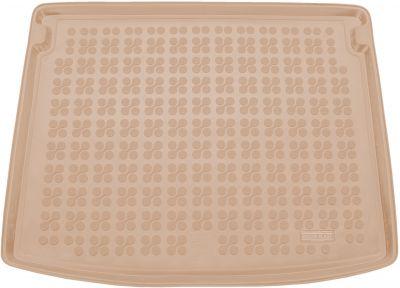 REZAW-PLAST beżowy gumowy dywanik mata do bagażnika Jeep Compass II (MP/552) od 2017r. 233111B/Z
