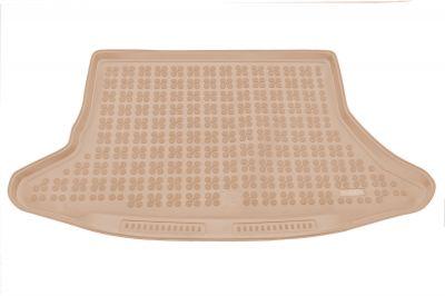 REZAW-PLAST beżowy gumowy dywanik mata do bagażnika Lexus CT 200h od 2011r. 233303B/Z