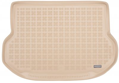 REZAW-PLAST beżowy gumowy dywanik mata do bagażnika Lexus NX 300h 200t od 2014r. 233307B