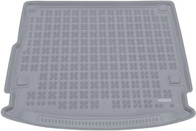 REZAW-PLAST popielaty gumowy dywanik mata do bagażnika Porsche Cayenne Hybryda od 2016r. 233503S/Z